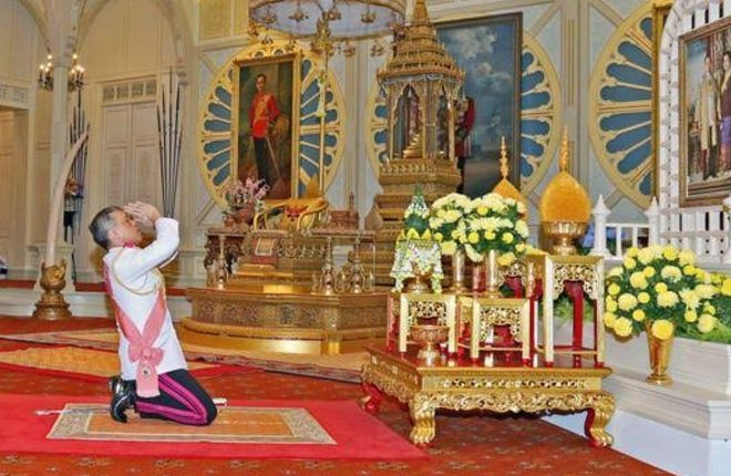 Thai Crown Prince Maha Vajiralongkorn proclaimed king