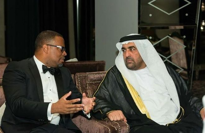 Citizens and friends of SKN in Dubai celebrate Federation's 33rd Independence Anniversary
