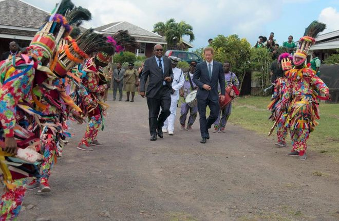Governor General Sir Tapley pleased with Royal Visit of Prince Harry to St. Kitts and Nevis