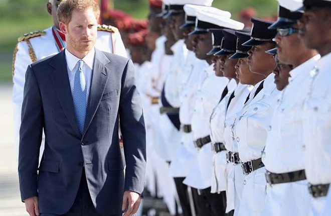 Prince Harry Begins Whirlwind Caribbean Tour
