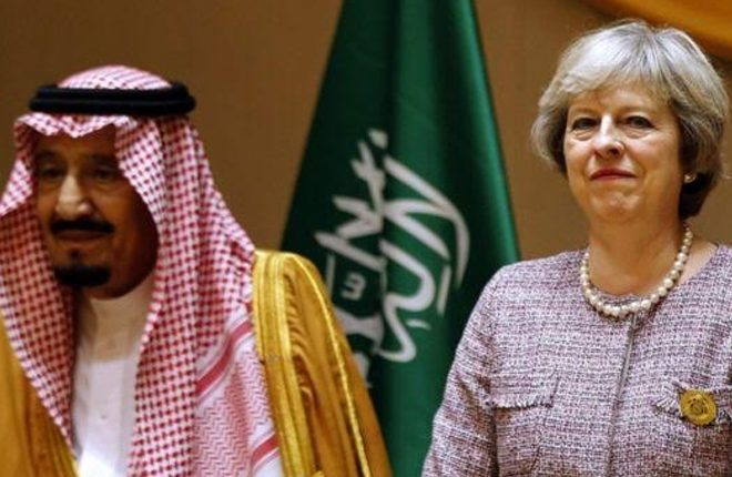 Boris Johnson's Saudi 'proxy wars' comment 'not UK's view'
