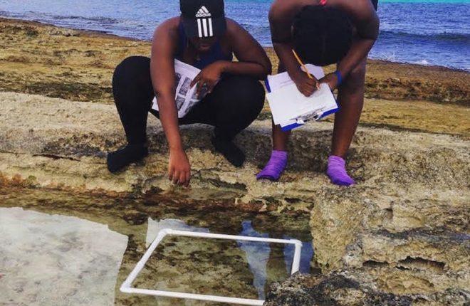 Young Marine Explorers Study Impact of Hurricane Matthew on The Bahamas