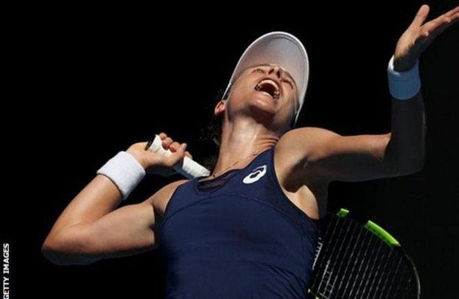 Australian Open 2017: Johanna Konta wins but Heather Watson and Kyle Edmund lose