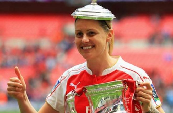 Kelly Smith: Arsenal Ladies & England legend retires from professional football