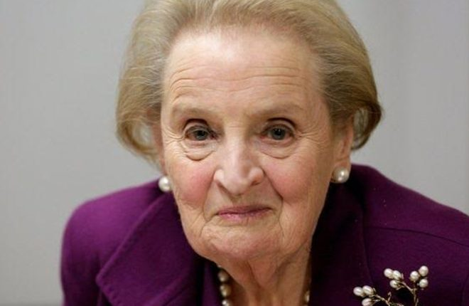 Madeleine Albright and Big Bang actress 'ready to join Muslim registry'