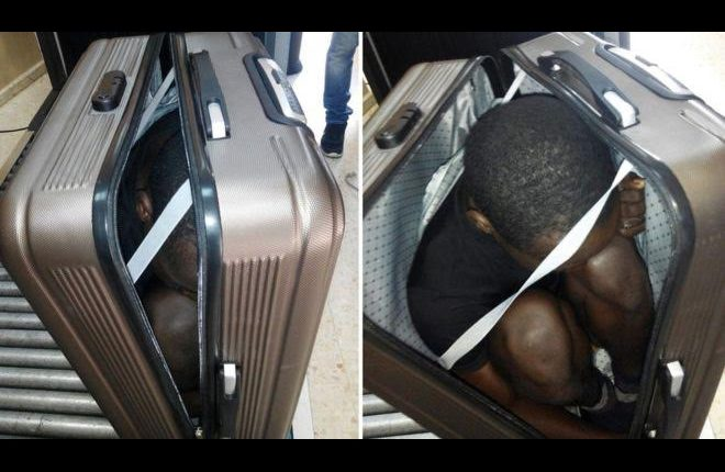 Spain Ceuta: Migrants found hidden in car and suitcase