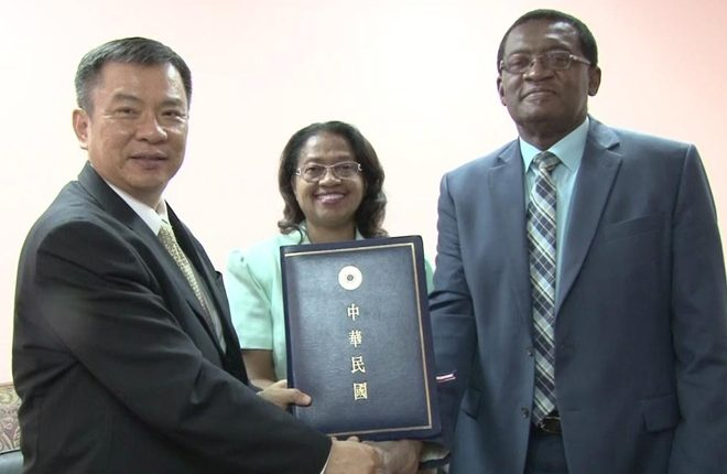 St. Kitts and Nevis signs three year medical cooperation agreement with Taiwan