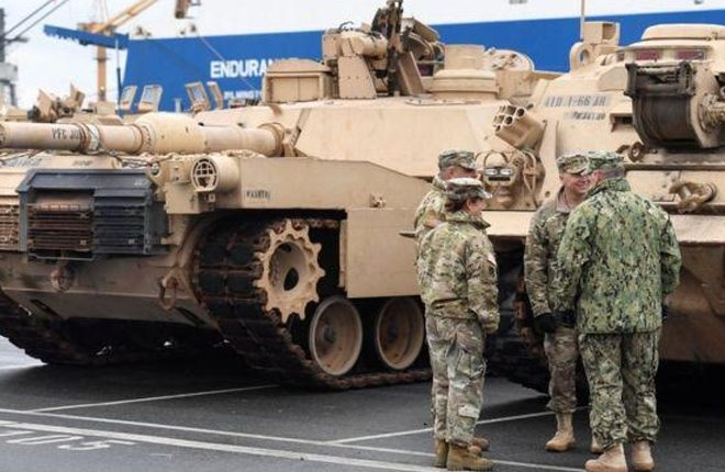 US tanks and troops in Poland a threat, Russia says