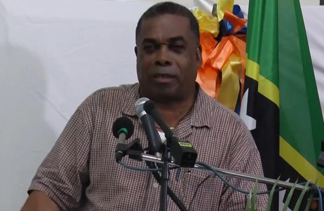 Minister Liburd says government will undertake 65 million dollar infrastructure project