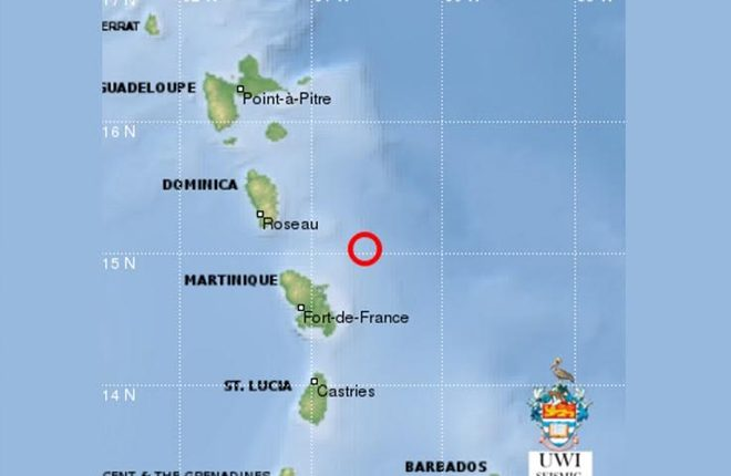 5.8 Magnitude Quake Rattles St Lucia and Other Islands