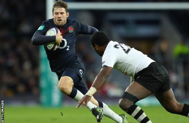 Six Nations 2017 – England v France: Elliot Daly starts on wing