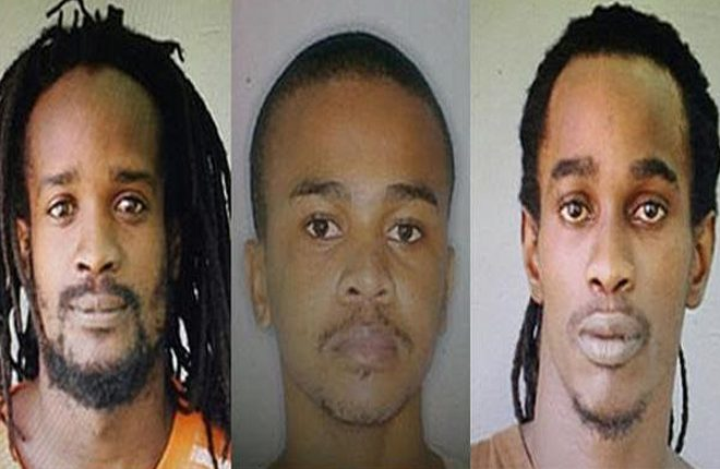 Life in prison for trio found guilty of murder