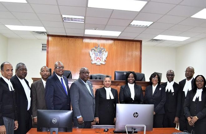 Chief Justice of The ECSC and St. Kitts and Nevis' Attorney General pay tribute to former Governor the late Sir Probyn Inniss