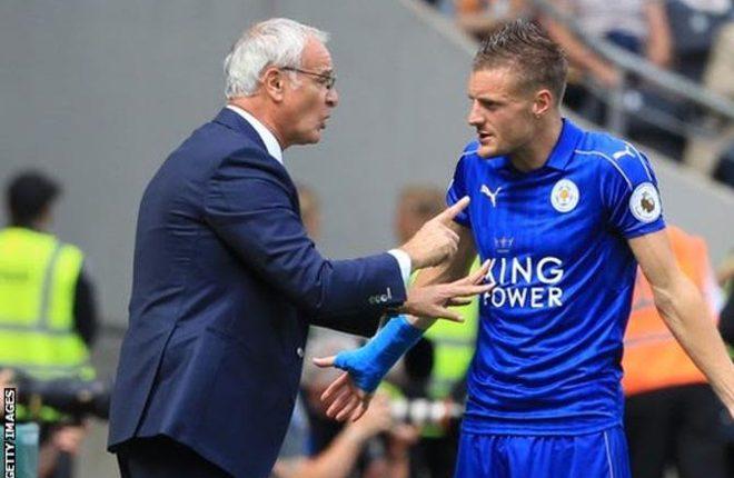 Jamie Vardy: Leicester striker 'had death threats' over Claudio Ranieri's sacking