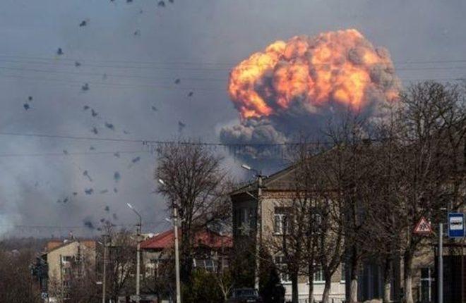 Ukraine munitions blasts prompt mass evacuations