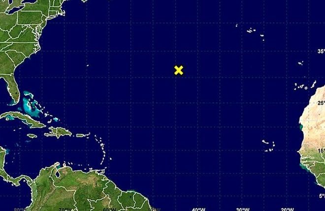 Rare April Storm May be Forming in the Atlantic