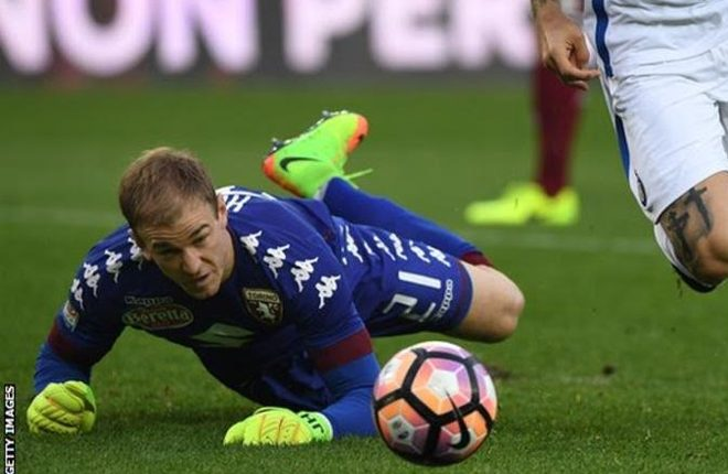 Joe Hart: Man City keeper not Liverpool target, says Jurgen Klopp