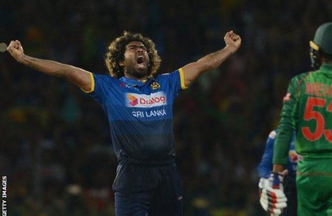 Lasith Malinga: Sri Lanka bowler takes hat-trick but Bangladesh win Twenty20
