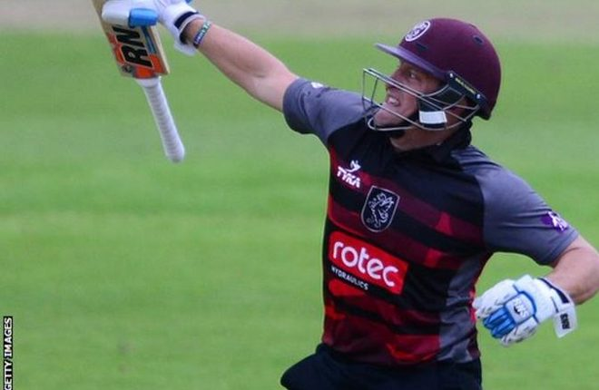 One-Day Cup: Roelof van der Merwe seals Somerset win over Surrey
