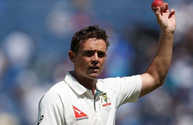 Stephen O'Keefe: Australia spinner fined for 'inappropriate comments'