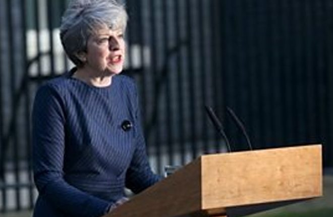Theresa May to seek snap election for 8 June