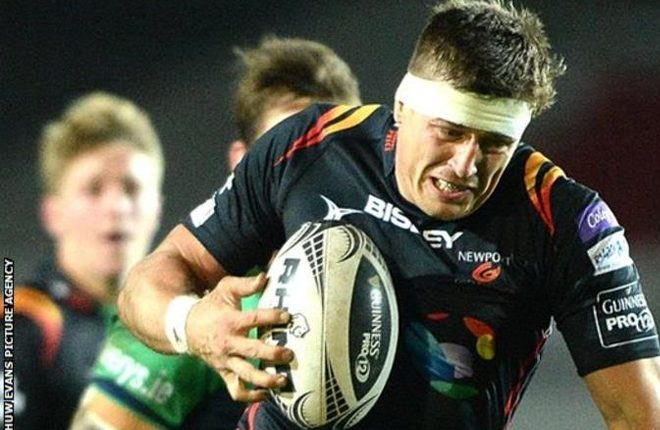 Dragons' Ed Jackson: 'I lost movement in my legs and power in my arms'
