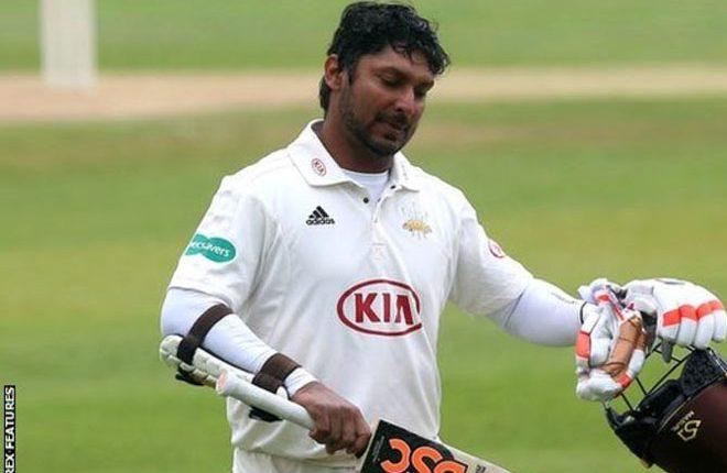 Essex v Surrey: Kumar Sangakkara misses out on first-class centuries record