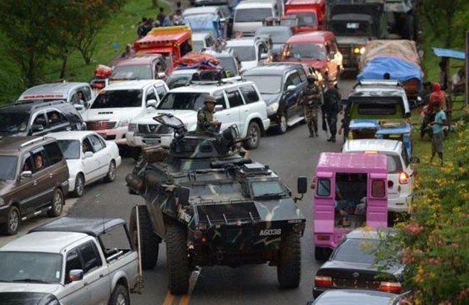 Marawi: Foreign fighters 'among militants in Philippine city'