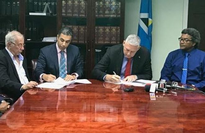 St Lucia signs new development agreement under CBI programme