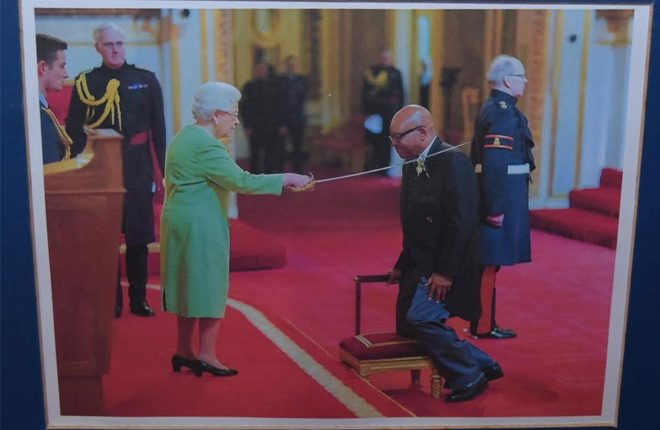PM  Harris salutes Sir Tapley as newest patron of the National Trust
