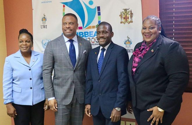 Foreign Minister Brantley leads delegation to Caribbean Regional Conference on the SDGs