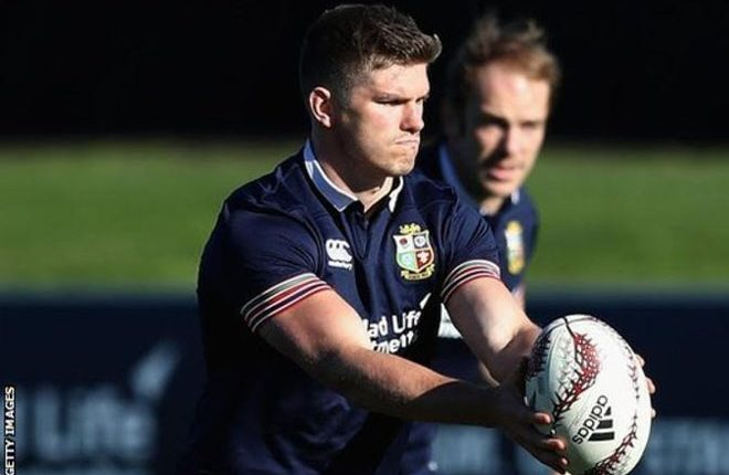 British and Irish Lions take on Crusaders with Farrell and Kruis handed starts