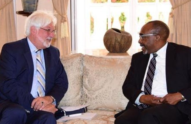 Germany seeks UN Security Council support from Barbados