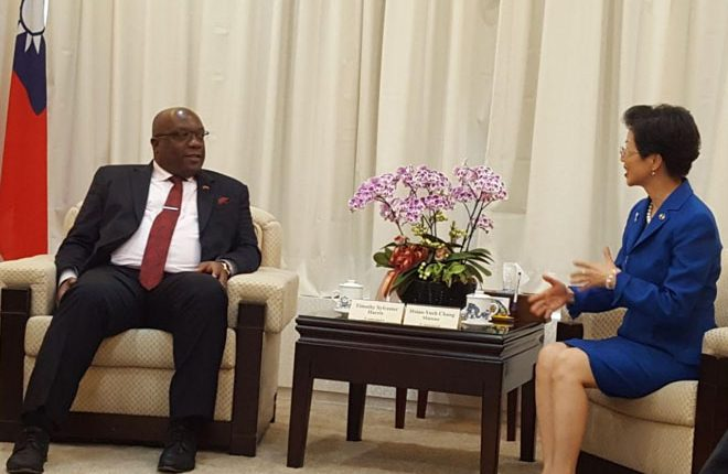 Prime Minister Harris Promotes The Interest Of St. Kitts-Nevis With Republic Of China Mainland Affairs Council Minister