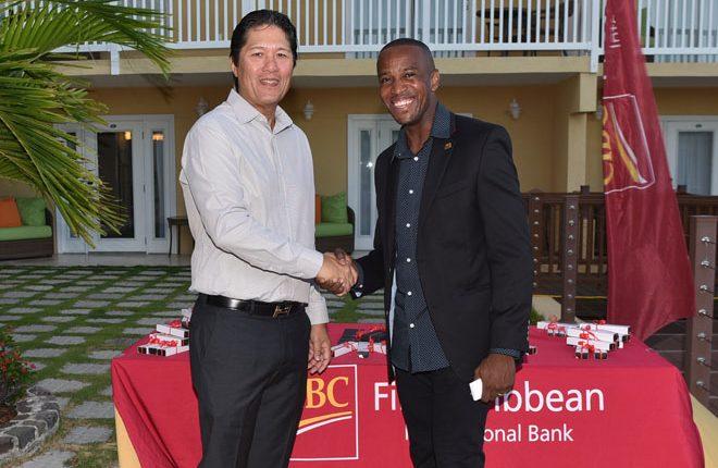 CIBC FirstCaribbean celebrates key clients