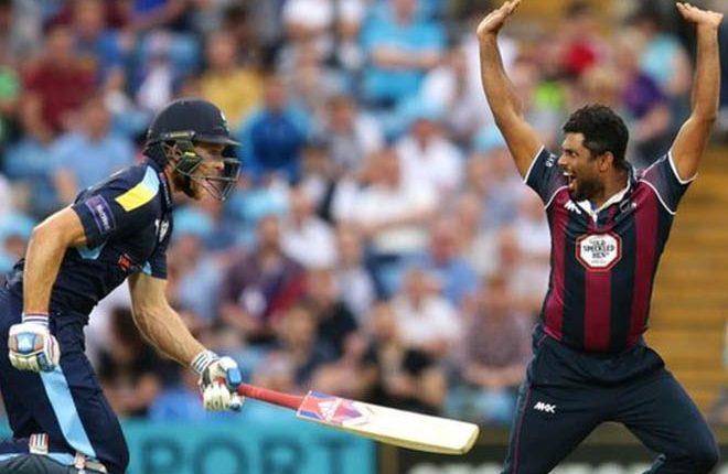 Seekkuge Prasanna: Sri Lanka international to miss Northants' T20 Blast