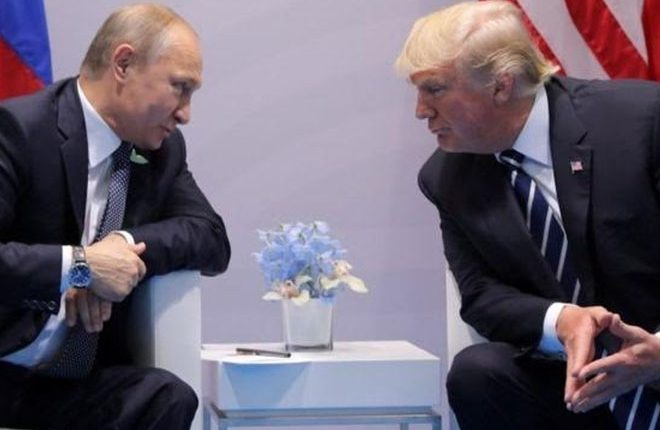 G20: Trump and Putin meet face to face for first time