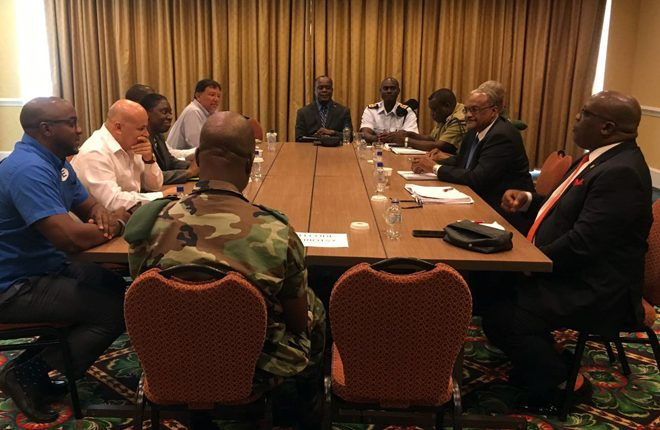 PM Harris and National Security Advisor meet with CIC and high ranking security personnel