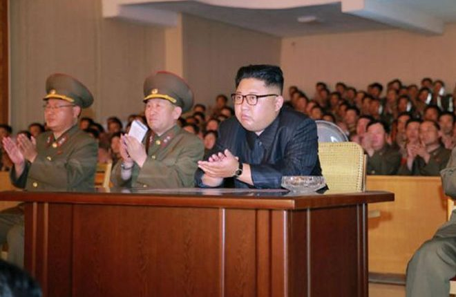 US hits Chinese and Russian firms over North Korea