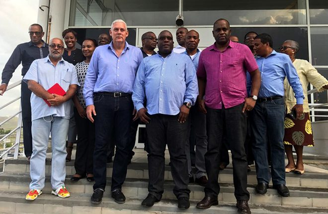 Dominica's Prime Minister thanks St. Kitts and Nevis for its post Maria recovery assistance