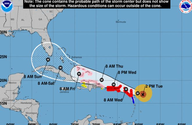 No reported loss of life or injury attributed to Category 5 Hurricane Irma in St. Kitts and Nevis