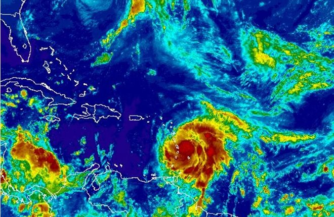Maria at Category 2 Intensity; Expected to Be a Dangerous Major Hurricane before Reaching Leeward Islands