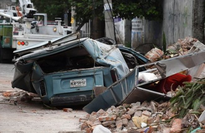Mexico's strongest quake in century strikes off southern coast