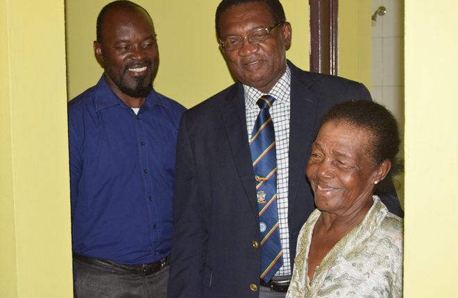 NHC hands over keys to Glendora Daniel's new home