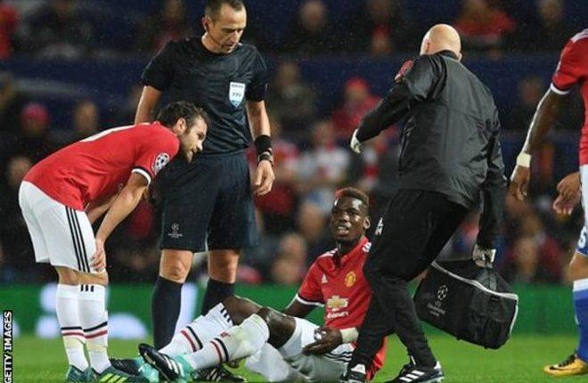 Paul Pogba: Man Utd midfielder has long-term injury, says Jose Mourinho