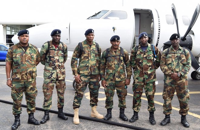 St. Kitts and Nevis officers assisting RSS mission in restoring normalcy to Dominica