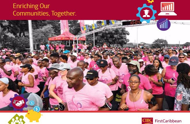 CIBC FirstCaribbean gives USD$1.2 million in support for over 600 regional projects