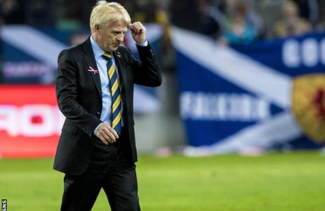 Scotland: Gordon Strachan leaves his position as national manager