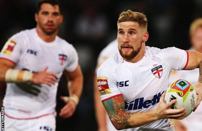 Rugby League World Cup: Sam Tomkins not in England squad