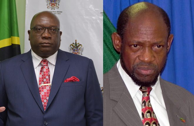 PM Harris issues challenge to Dr. Denzil Douglas: Come clean on dual citizenship